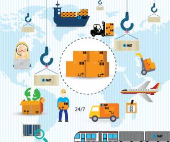 logistics-icons-vector-illustration-in-colors-style-11218